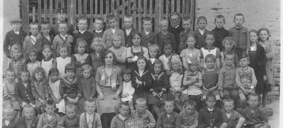 Iskolai csoportkép 1932-ből