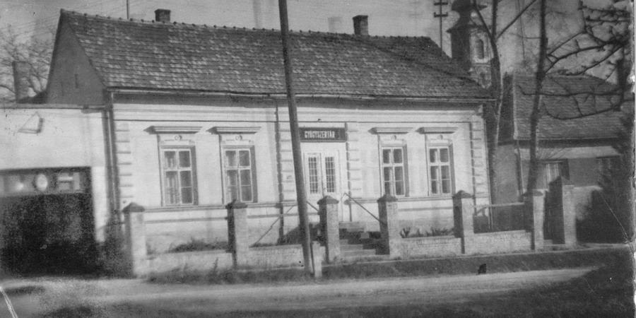 Jézus Szíve gyógyszertár az 1960-as években