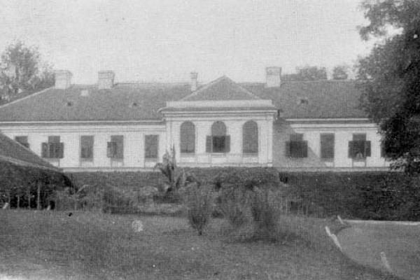 A Zichy kastély az 1900-as évek elején