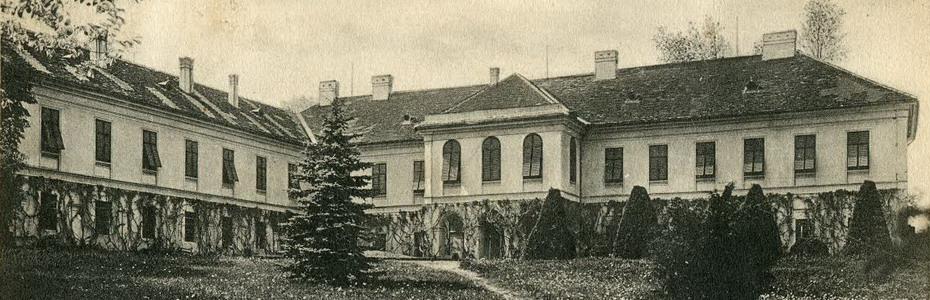 A Zichy-kastély az 1900-as évek elején.